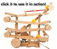 Matador, educational toys, wooden toys, marble machine