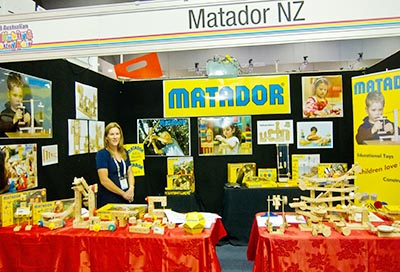 Matador, educational toys, Melbourne Cnvention Centre, toy fair